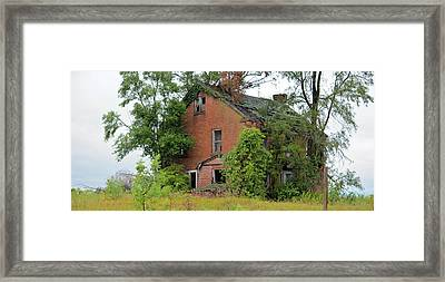 Sheffield House Panorama Framed Print by Bonfire Photography