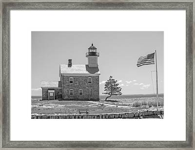 Sheffield Island Light Framed Print