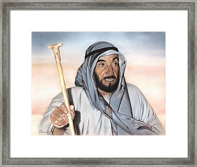 Sheik Zayed Framed Print