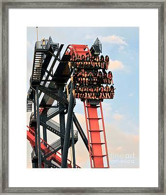 Sheikra Up Close Framed Print