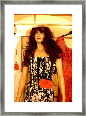 Sheila Framed Print by Jez C Self