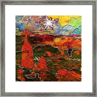 Shekinah...after Van Gogh  Framed Print by Paul Sutcliffe