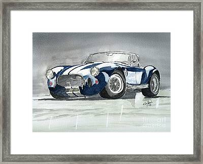 Shelby Cobra Framed Print