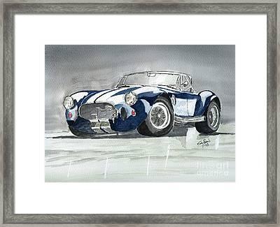 Shelby Cobra Framed Print by Eva Ason