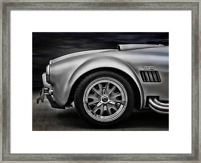 Shelby Cobra Gt Framed Print by Douglas Pittman