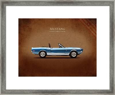 Shelby Cobra Gt500 Kr Framed Print by Mark Rogan