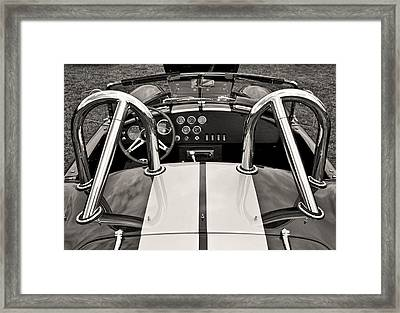 Shelby Cobra Framed Print by Scott Wood