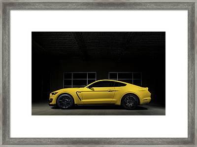 Shelby Gt 350 Framed Print