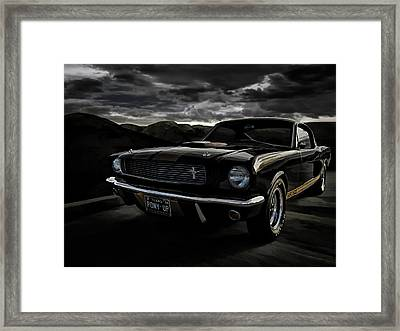 Shelby Gt350h Rent-a-racer Framed Print by Douglas Pittman