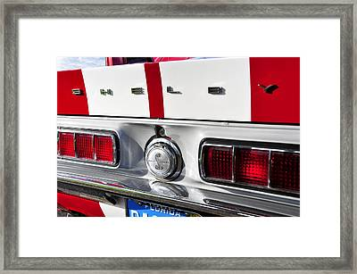 Shelby Mustang Framed Print by David Lee Thompson