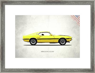 Shelby Mustang Gt350 1969 Framed Print by Mark Rogan