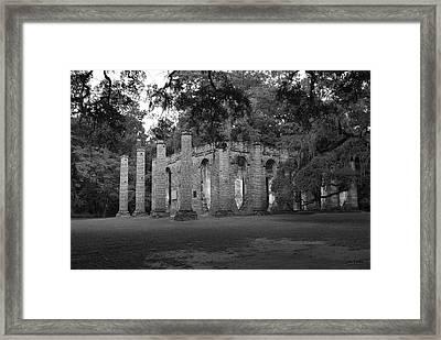 Sheldon Church 4 Bw Framed Print