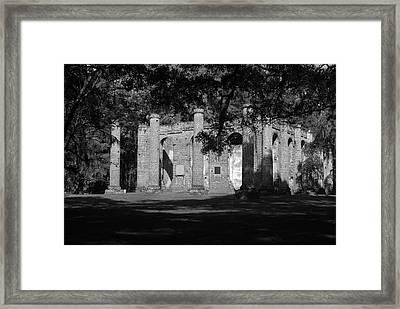 Sheldon Church 7 Bw Framed Print
