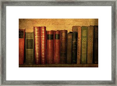 Shelf Life Framed Print