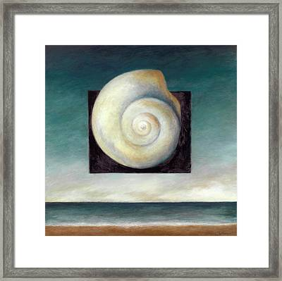 Shell 2 Framed Print by Katherine DuBose Fuerst