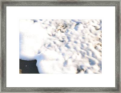 Shell And Waves Part 4 Framed Print by Alasdair Turner