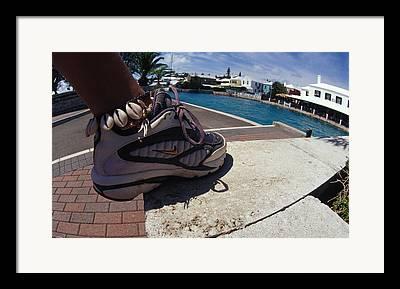 Nike Running Shoes Framed Prints