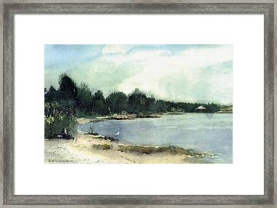 Shell Beach Framed Print
