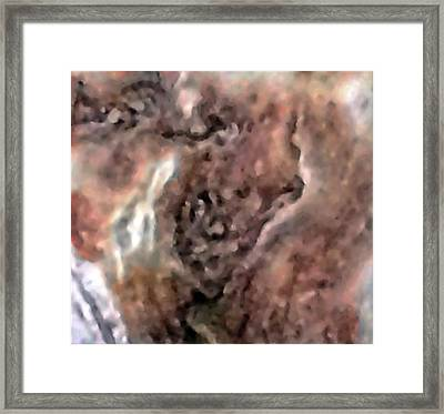 Shell Boy Spirit Photo Framed Print