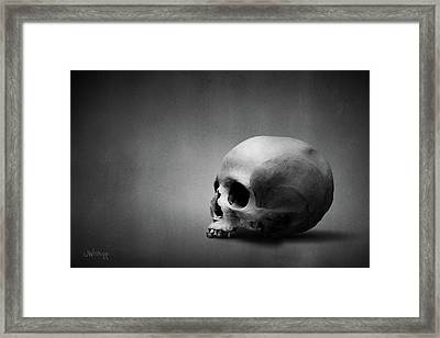 Framed Print featuring the digital art Shell Game II by Joseph Westrupp