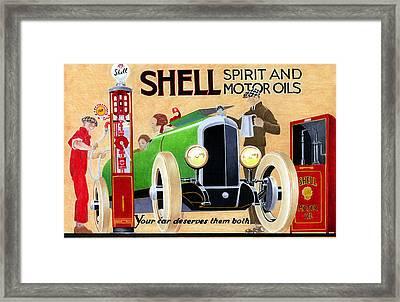 Shell Spirit Framed Print by Lyle Brown