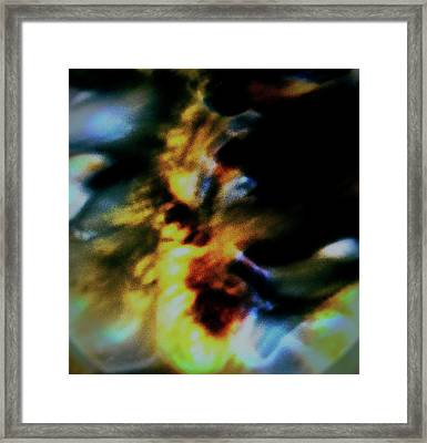 Shell Dancing Framed Print by Gina O'Brien