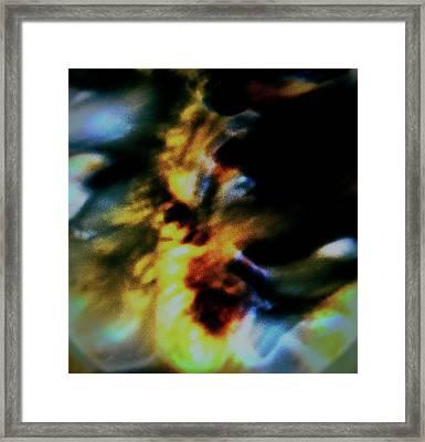 Shell Dancing Framed Print