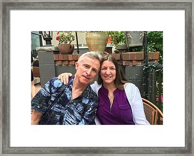 Shellie And Allen Framed Print
