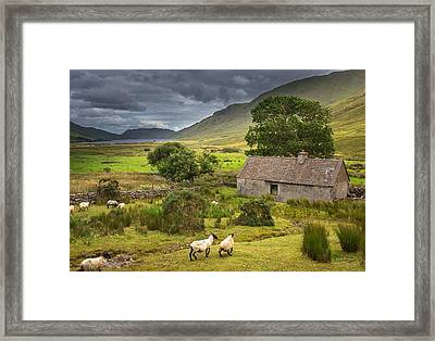 Shelter For Centuries Framed Print by Tim Bryan