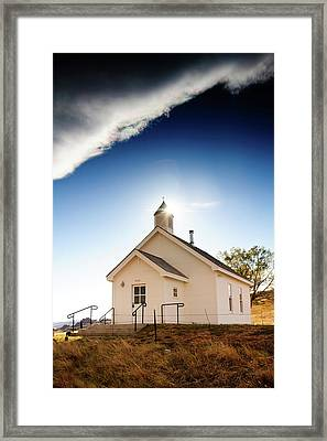 Shelter From The Storm Framed Print