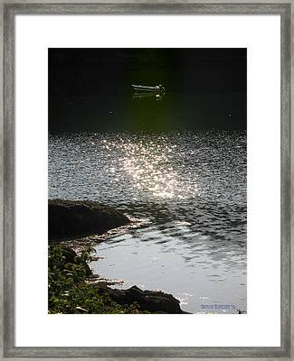 Shelter In The Cove Framed Print by Garth Glazier
