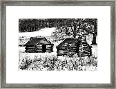 Shelter The Soldiery  Framed Print