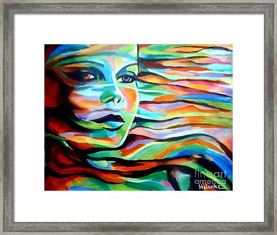 Sheltered By The Wind Framed Print by Helena Wierzbicki