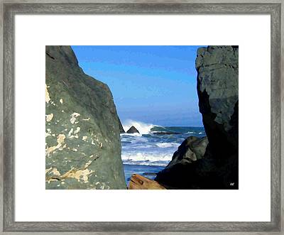 Sheltered From The Wind Framed Print by Will Borden