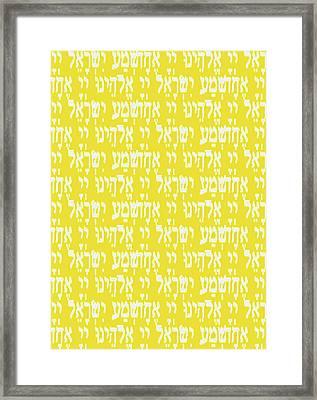 Shema Citrus Delights Framed Print