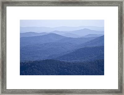 Shenandoah Mountains Framed Print by Pierre Leclerc Photography