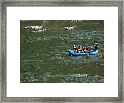 Shenandoah Rafters Framed Print by Michael L Kimble