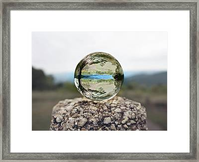 Framed Print featuring the photograph Shenandoah by Sue Collura