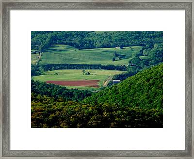 Shenandoah Valley 2 Framed Print