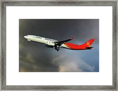 Shenzhen Airlines Framed Print