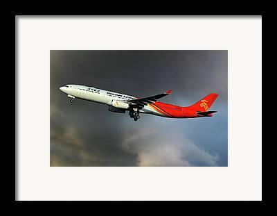 Shenzhen Airlines Framed Prints