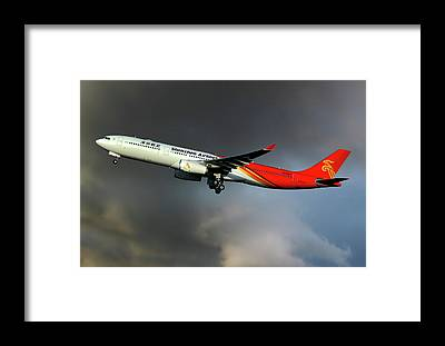 Shenzhen Airlines Framed Prints