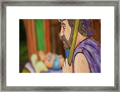 Shepherd Framed Print by Gaspar Avila