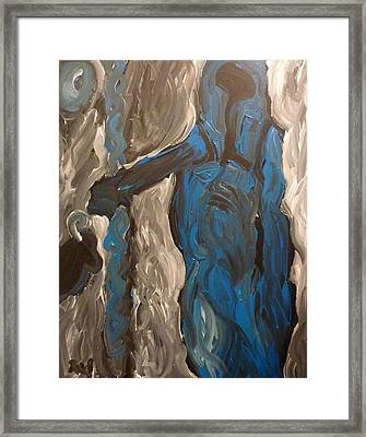 Shepherd Framed Print by Joshua Redman