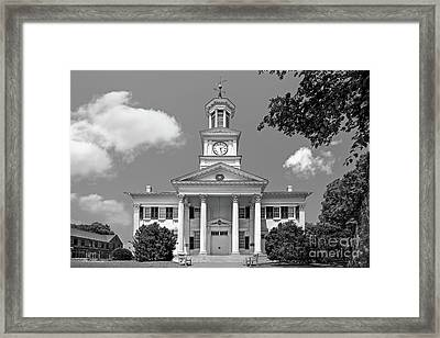 Shepherd University Mc Murran Hall Framed Print by University Icons