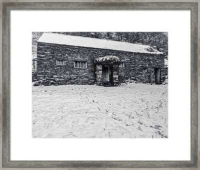 Framed Print featuring the photograph Shepherds Cottage by Keith Elliott