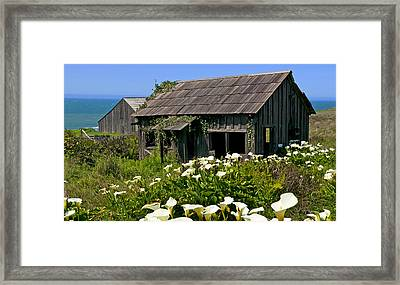 Shephers's Shack Framed Print by Garry Gay