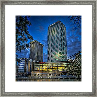 Sheraton Water Front Framed Print by Marvin Spates
