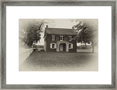 Sherfy Farmhouse Framed Print by Hugh Smith