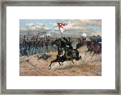Sheridan's Ride -- Civil War Framed Print by War Is Hell Store